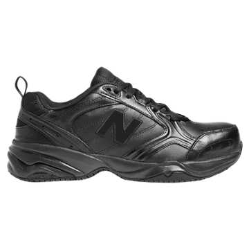 New Balance Steel Toe 627 Leather, Black