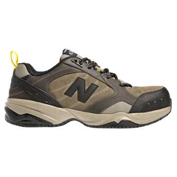 new balance work shoes. men\u0027s work shoes. expand. new balance steel toe 627 suede, brown shoes l