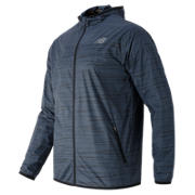 New Balance Reflective Windcheater Jacket, Thunder