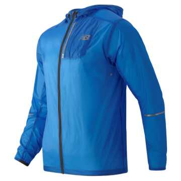 New Balance Lite Packable Jacket, Bolt