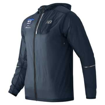 New Balance United NYC Half Packable Jacket, Supercell
