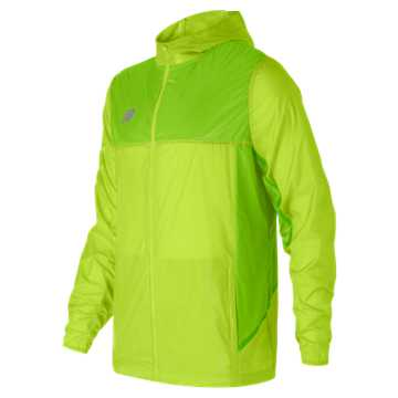 New Balance Tech Training Rain Jacket, Toxic