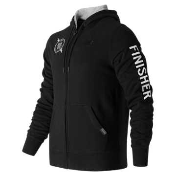 New Balance United NYC Half Finisher Hoodie, Black