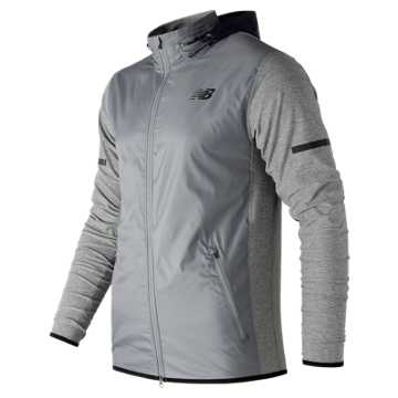 New Balance N Transit Jacket, Athletic Grey