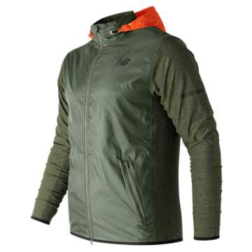 New Balance N Transit Jacket, Military Dark Triumph