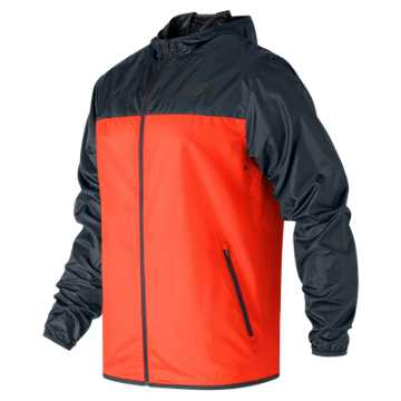 New Balance Windcheater Jacket, Alpha Orange with Supercell