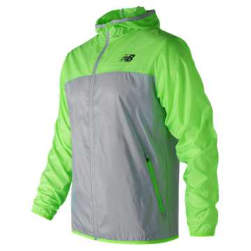 New Balance Windcheater Jacket, Energy Lime