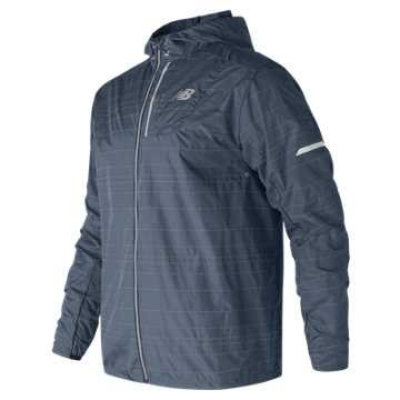 New Balance Reflective Lite Packable Jacket, Vintage Indigo