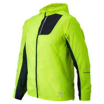 New Balance J.Crew Lite Packable Jacket, Hi-Lite
