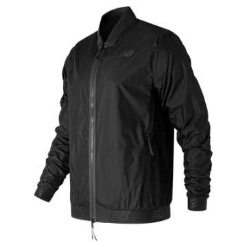 New Balance 247 Bomber Jacket, Black