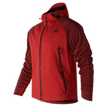 New Balance NB Heat Hybrid Jacket, Red Pepper