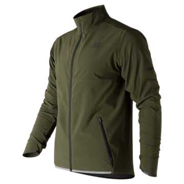 New Balance Precision Run 3 In 1 Jacket, Military Dark Triumph