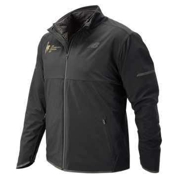 New Balance NYC Marathon Precision Run 3 in 1 Jacket, Black
