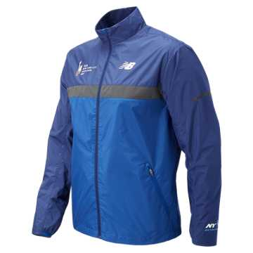 New Balance NYC Marathon Windcheater Jacket, Team Royal