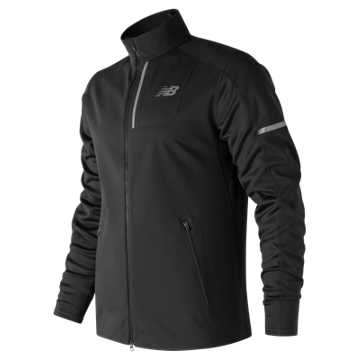 New Balance Windblocker Jacket, Black