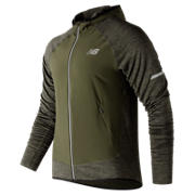 New Balance NB Heat Run Jacket, Military Dark Triumph Heather