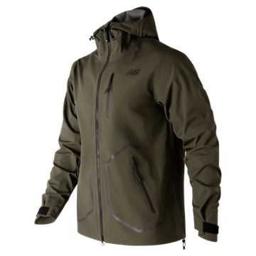 New Balance 247 Luxe Jacket, Military Dark Triumph