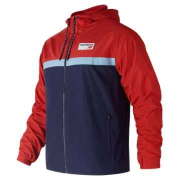 New Balance NB Athletics 78 Jacket, Red Pepper