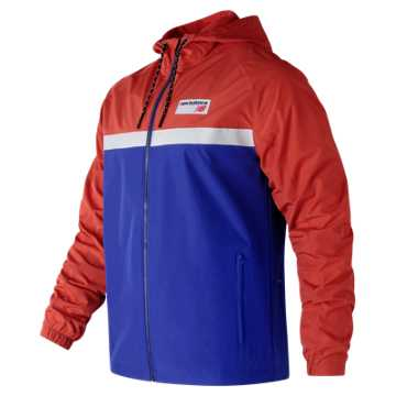 New Balance NB Athletics 78 Jacket, Shockwave with Blue
