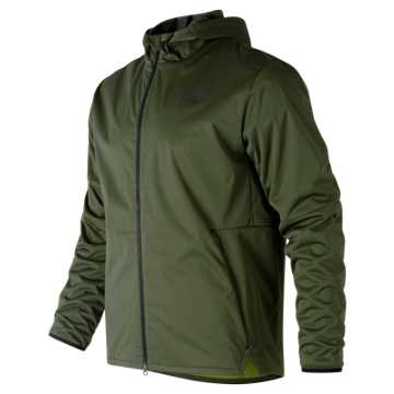 New Balance Max Intensity Jacket, Dark Green
