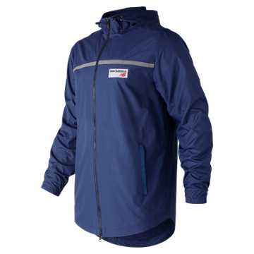 New Balance NB Athletics Lightweight Windbreaker, Atlantic