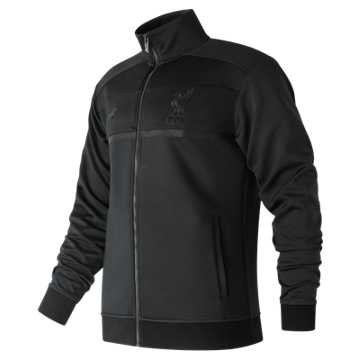 New Balance Pitch Black Track Jacket, Black