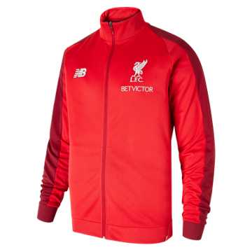 New Balance Liverpool FC Elite Training Presentation Jacket, Racing Red