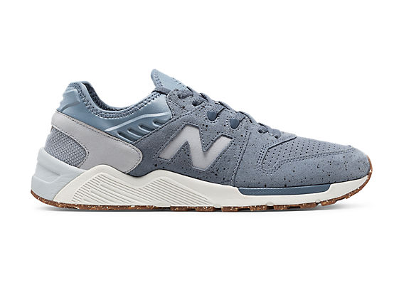 new balance 009 bleu