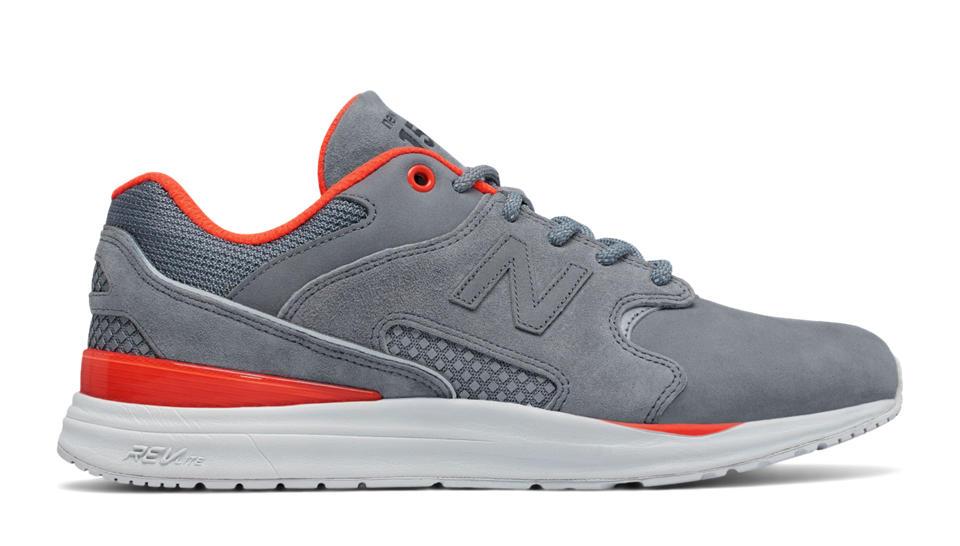 new balance grey and orange