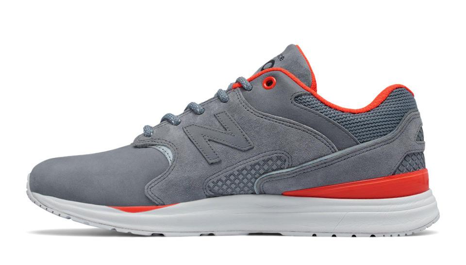 new balance gray orange