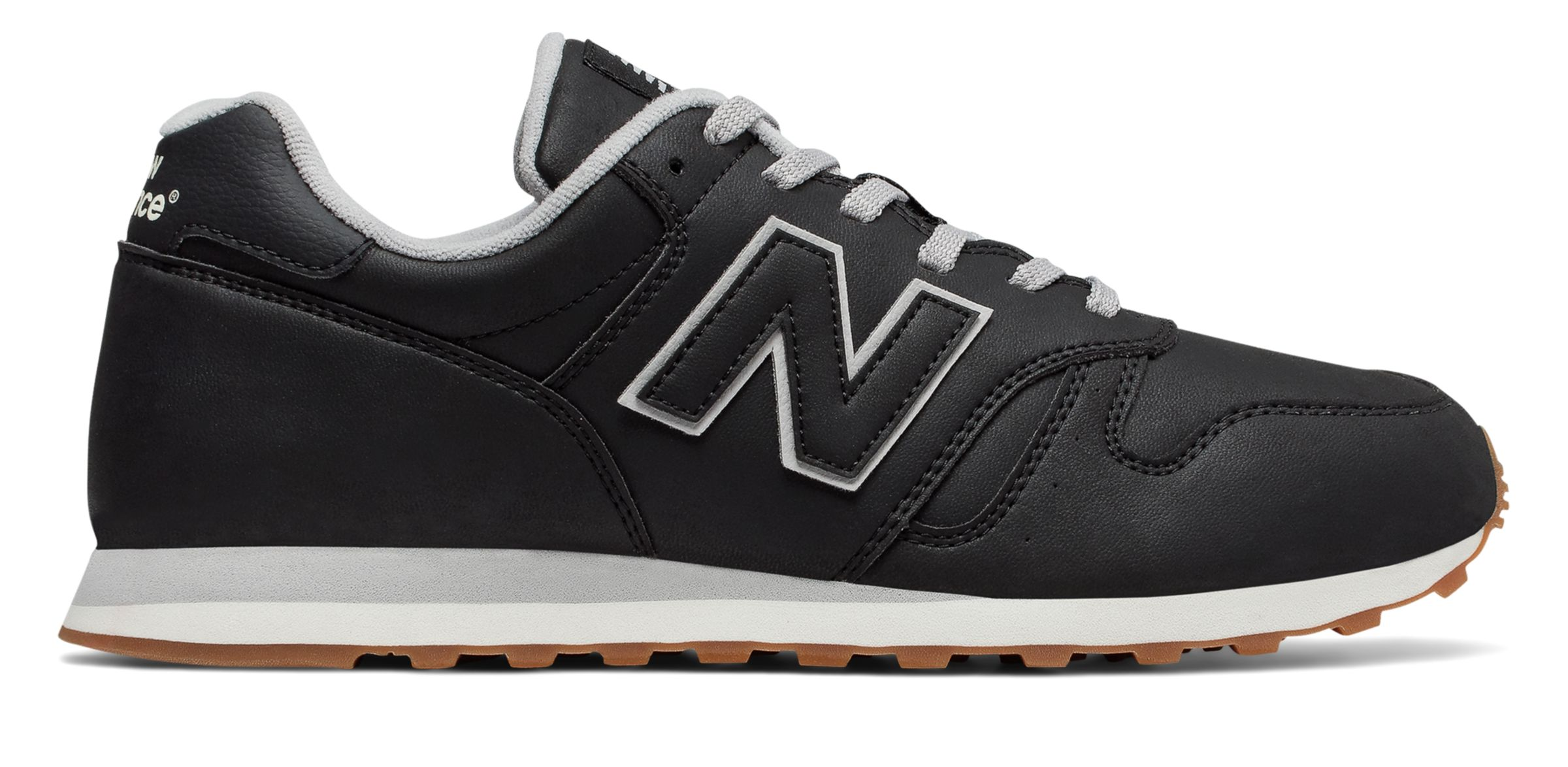 NB 373 Modern Classics, Black with Grey