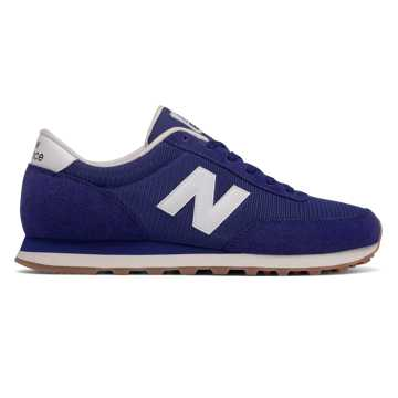New Balance 501 New Balance, Navy with White