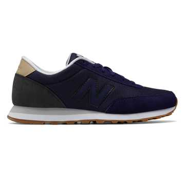 New Balance 501 New Balance, Navy with Black