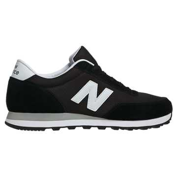 New Balance 501 Ballistic, Black with White