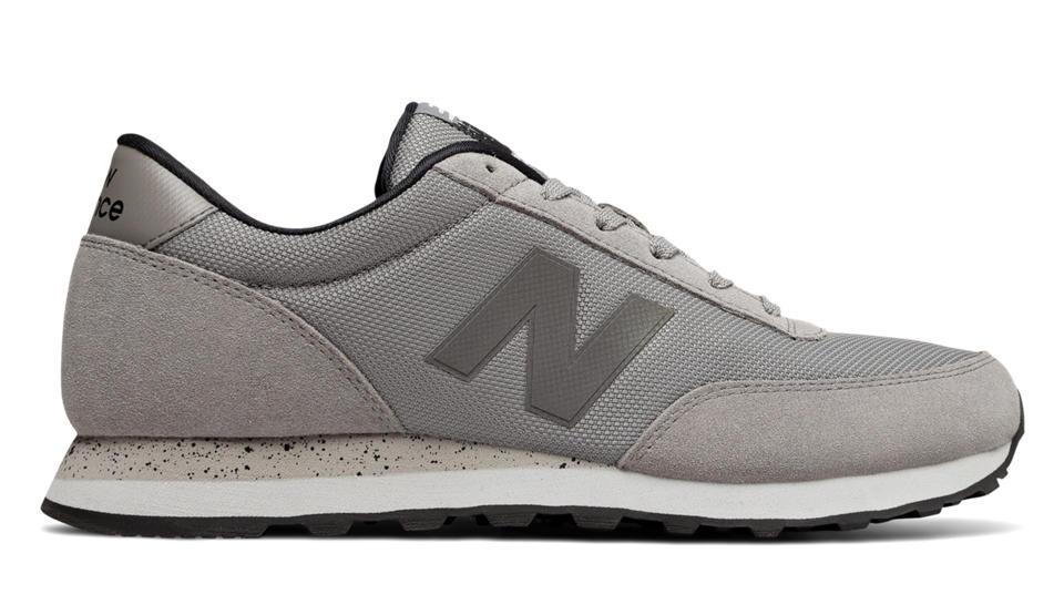 Mens New Balance Classics ML501 Grey Black Classic Shoes Z49754