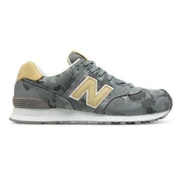 New Balance 574 Camo, Steel with Toasted Coconut
