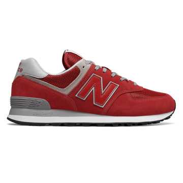 New Balance 574, Team Red