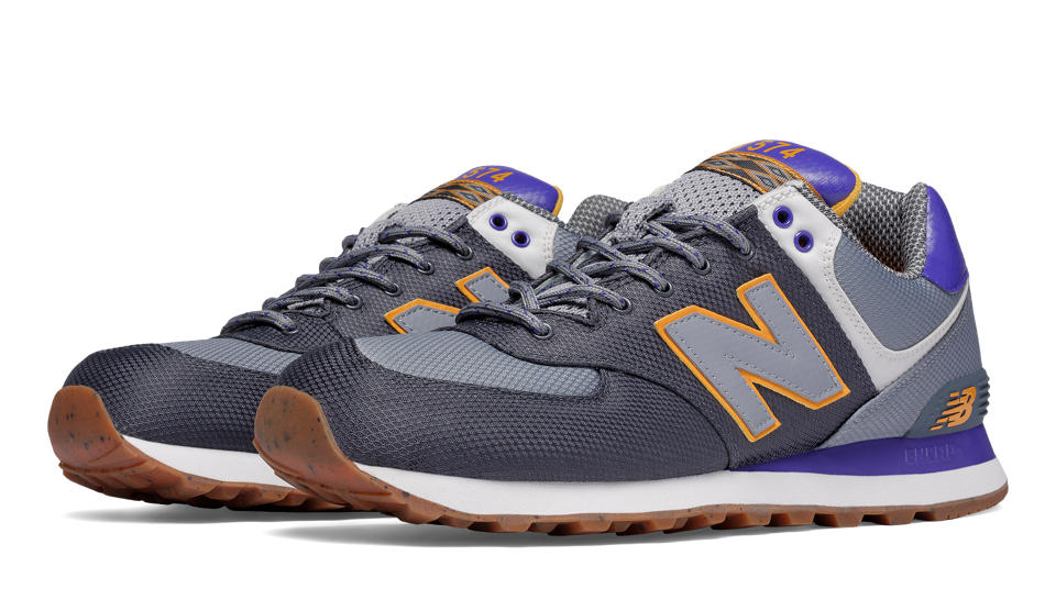 mens purple new balance 574