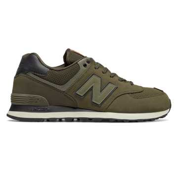 New Balance 574 New Balance, Triumph Green with Military Dark Triumph