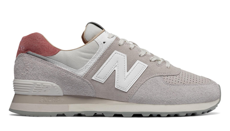 new balance 574 gris et or