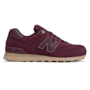 New Balance 574 Outdoor Activist, Chocolate Cherry with Sand