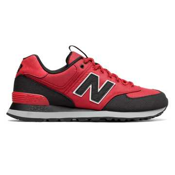 new balance shoes red. new balance 574 outdoor escape, tempo red with black shoes 7