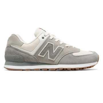 New Balance 574 Retro Sport, Steel with Silver Mink