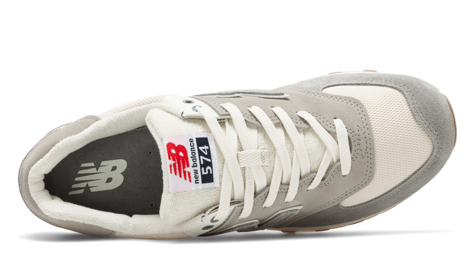 release date: 27c9b 95746 ... NB 574 Retro Sport, Steel with Silver Mink New Balance ...