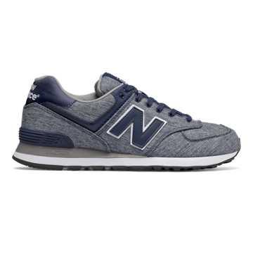 New Balance 574男子复古鞋 避震稳定 舒适透气, 藏青色
