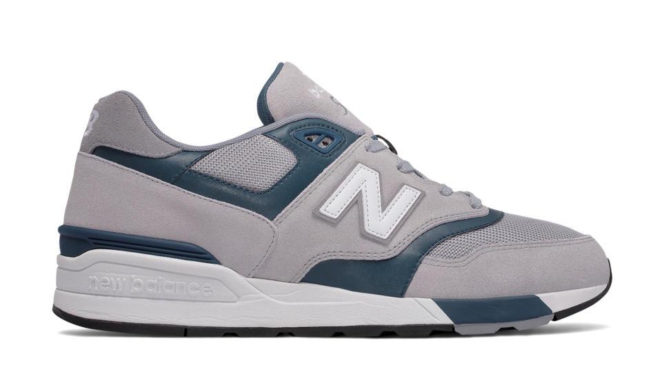 NB 597 New Balance, Grey with Dark Teal