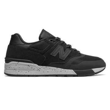 New Balance Suede 597, Black