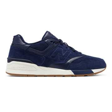 New Balance Suede 597, Pigment with Sea Salt
