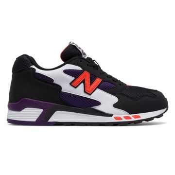 New Balance 660系列复古鞋, 黑色/紫色/白色