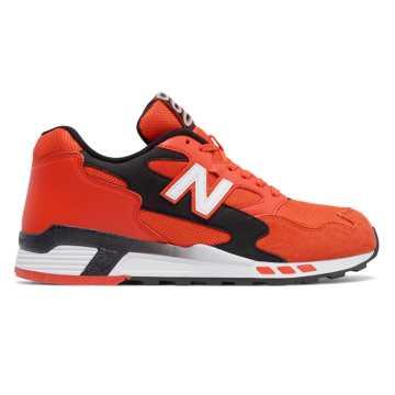 New Balance 660系列复古鞋, 橘红色